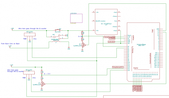 Energy Monitor Schematic
