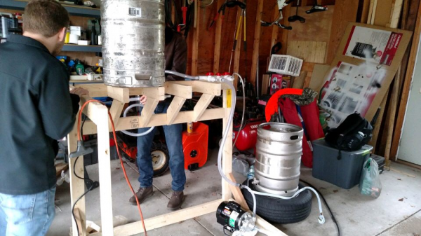 Keg Washer Prototype Build