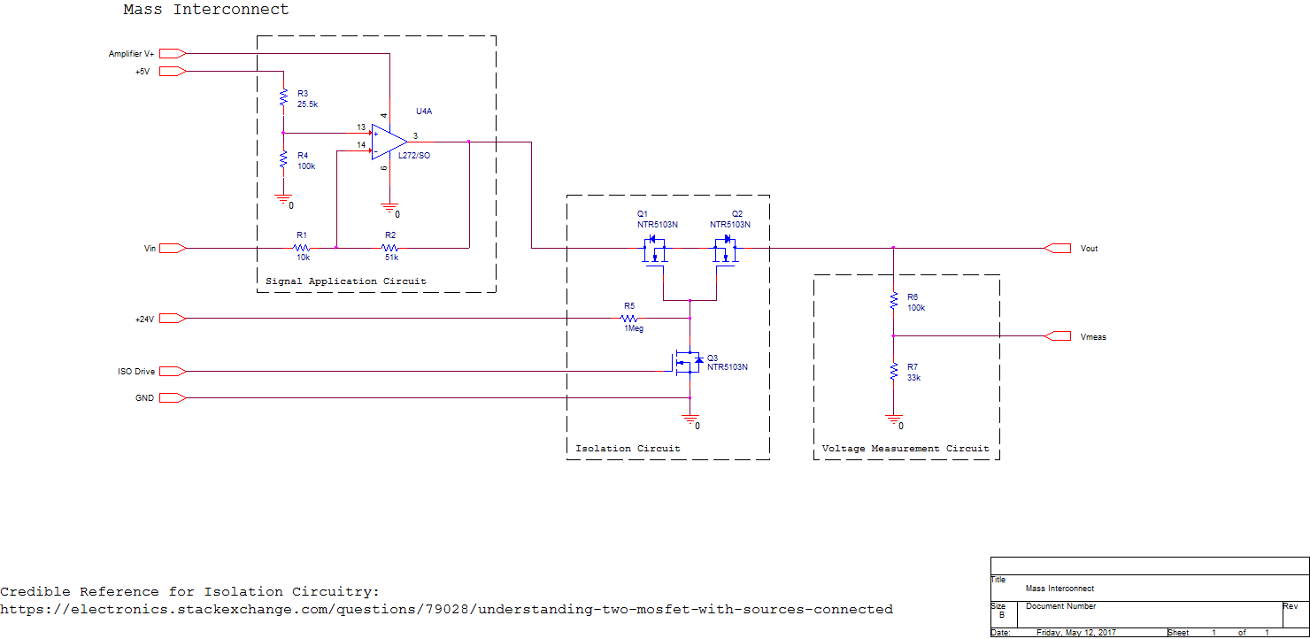 Edge Op Amp Opamps In A Loop Electrical Engineering Stack Exchange Mass Interconnect Schematic