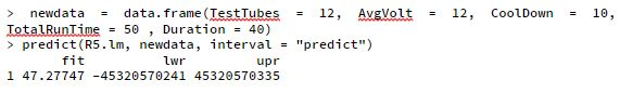 Average PCV Prediction