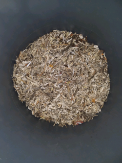 Wood chip quality from grinder