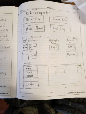 Page 1 of proposed GUI