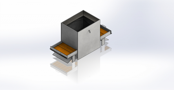 Isometric view of our System in CAD