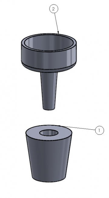 Bottle Reshape CAD Design