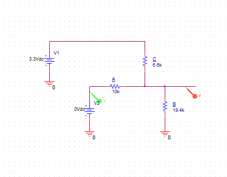 Voltage Divider Circuit for -/+5V Pressure Input