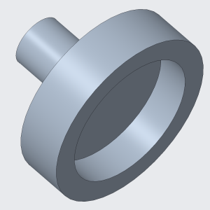 Isometric View of Coupling, Roller Side