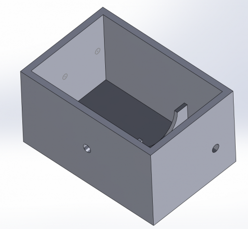 First Version of Motor Box