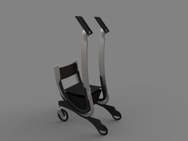 Final Model in CAD with Materials