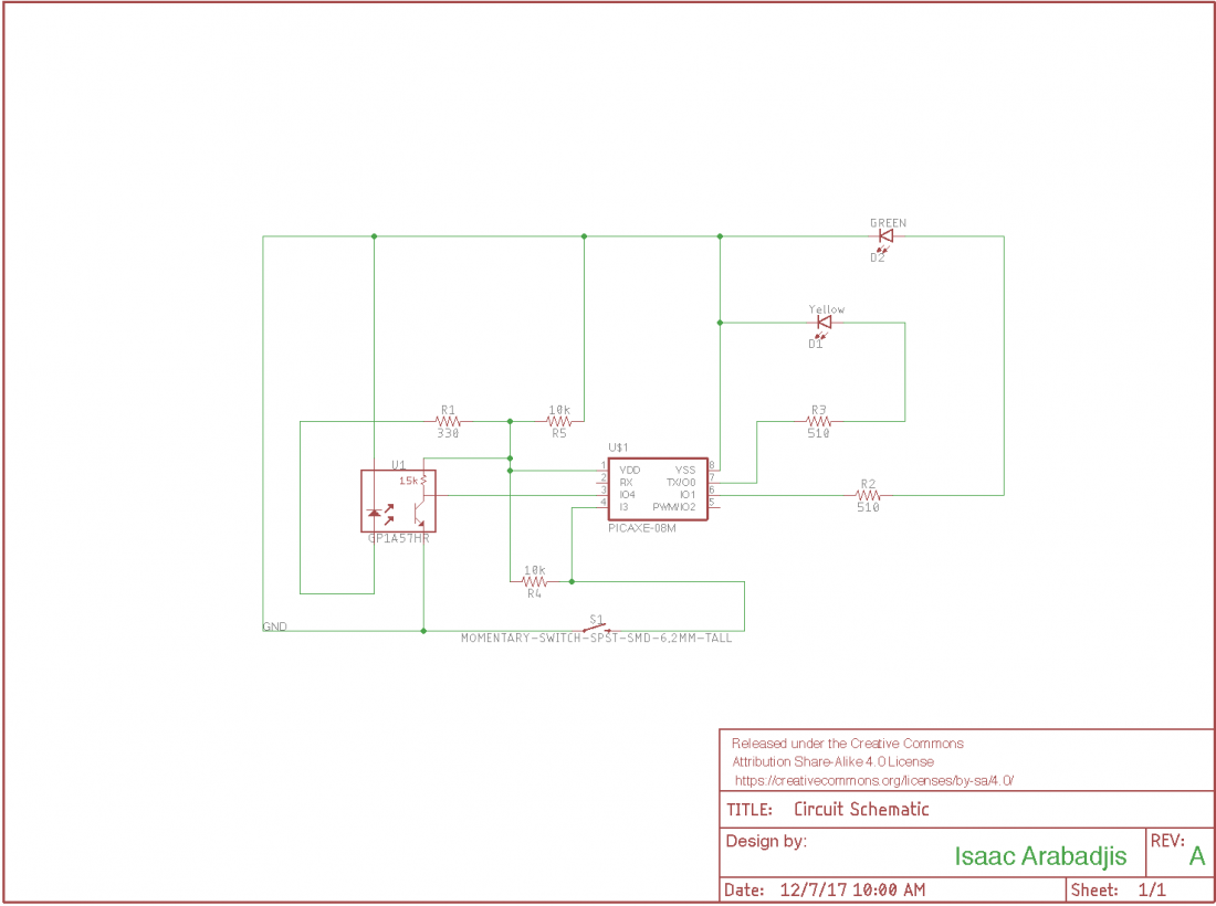 Working Circuit Diagram