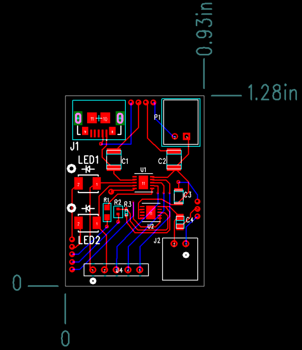 PCB Layout Schematic