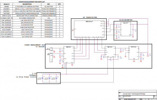 Power Management Electrical Design