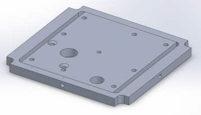 Version 3.1 Mounting Plate
