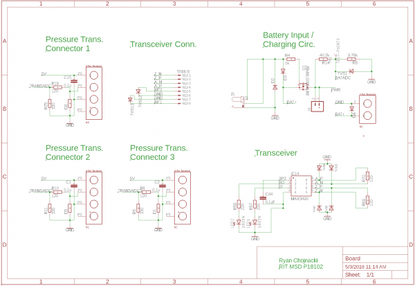Final PCB Connnectors and Transceiver