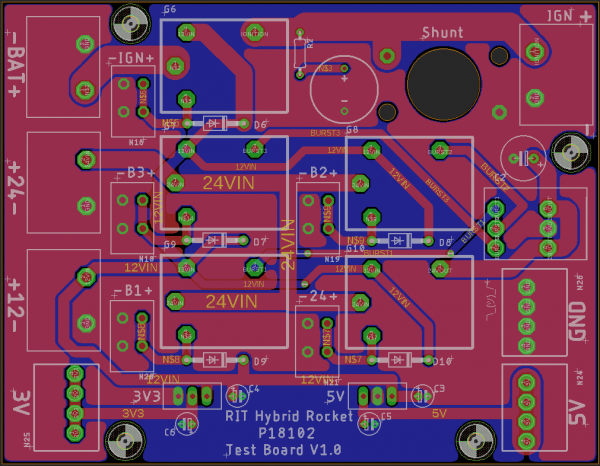 Relay Board Eagle Layout