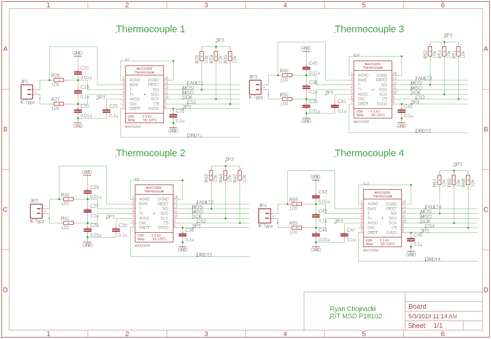 Edge Circuit Electronic Pyro Igniter System Projects Final Engine Pcb Thermocouple