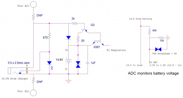 Initial Charging Circuit Proposal, Revision 2