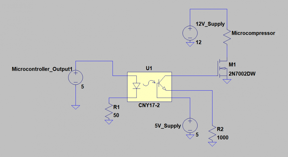 Microcompressor Control Circuit