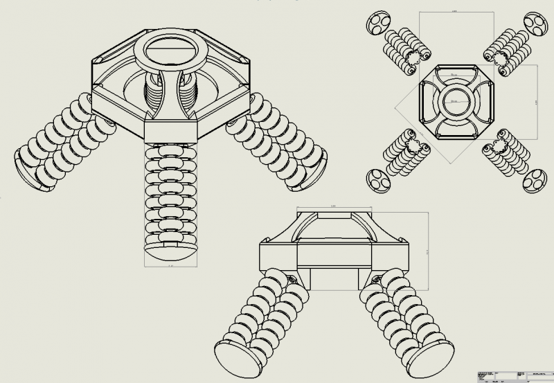 Snapshot of Robot Assembly Drawing