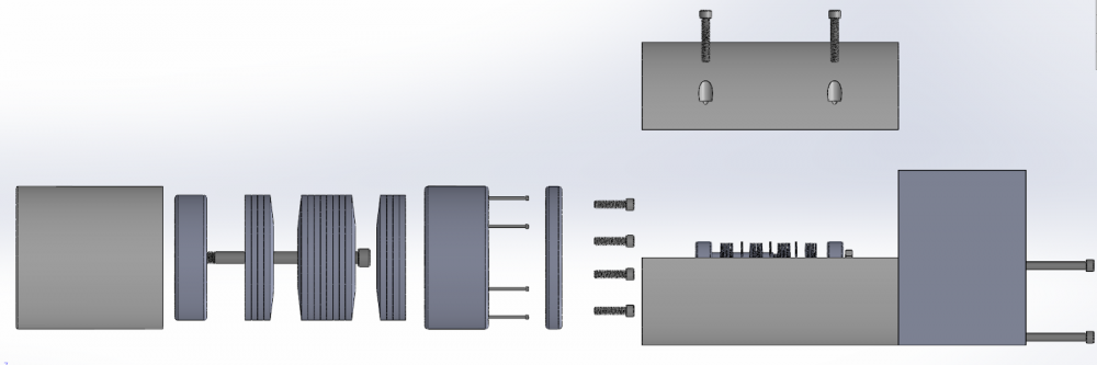 Pack System Exploded View
