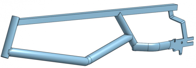 Main Tricycle Frame