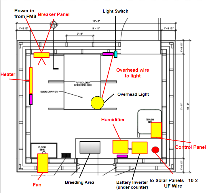 Updated Shed Wiring Layout