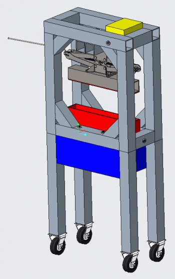 R4 Overall Design Frame with Corner Braces