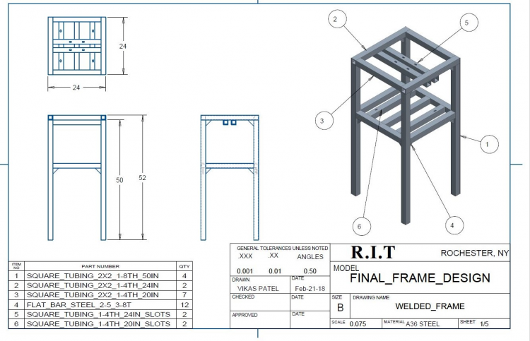 Frame Drawing