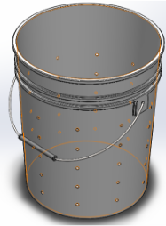 Inner Bucket with holes