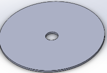Lid with hole for Plunger