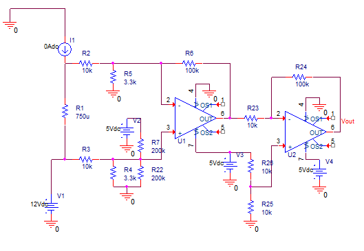 Current Meter Test Circuit