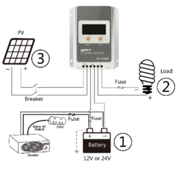 Power Controller Schematic Option Three