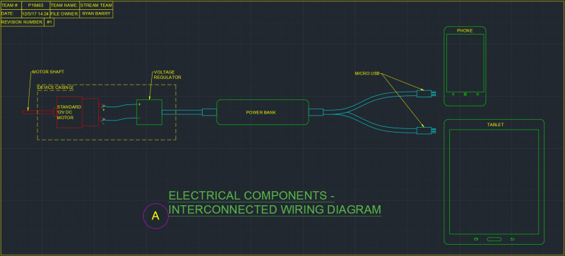 Electrical Components Wiring Diagram