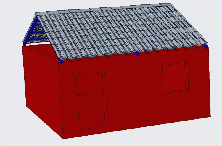 Finished Roof Model