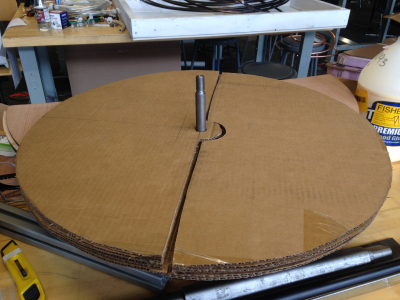 To-Scale Prototype of Selected Tabletop Design