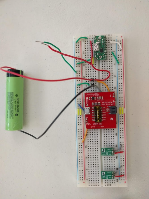 Breadboard prototype of power system