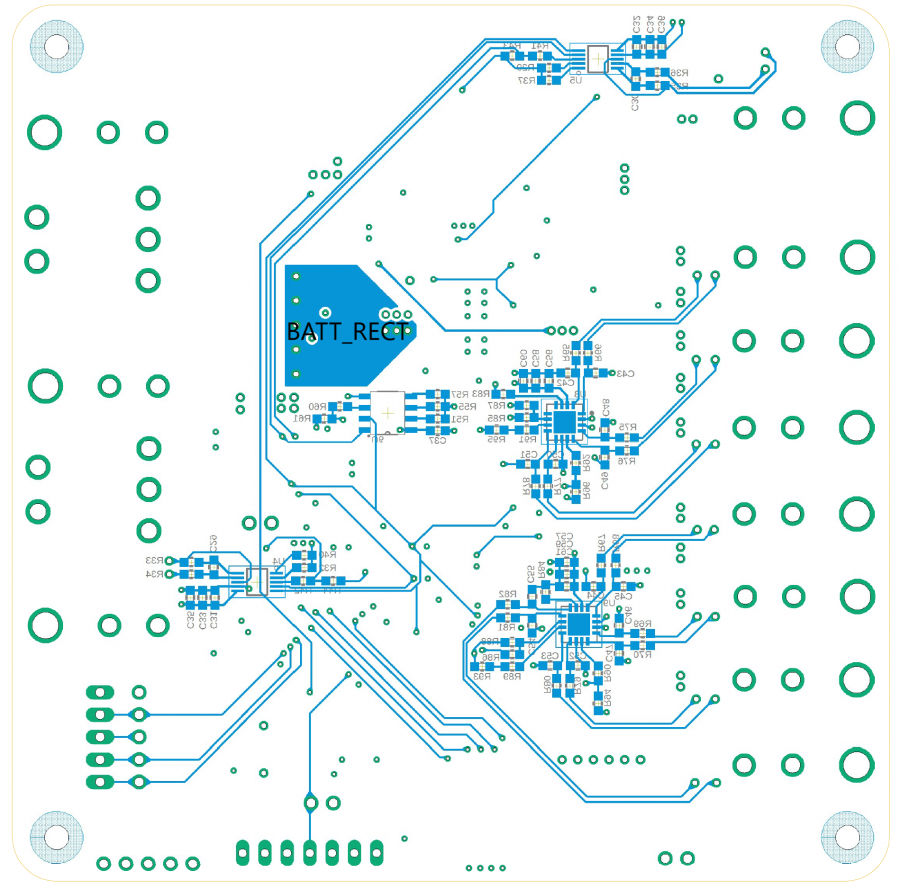Bottom Layer PCB