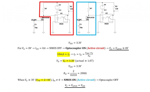 Isolation Circuitry Analysis