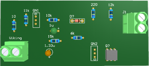 Printed Circuit Board Using CircuitMaker (Concept)