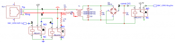 Interface Board circuit diagram.