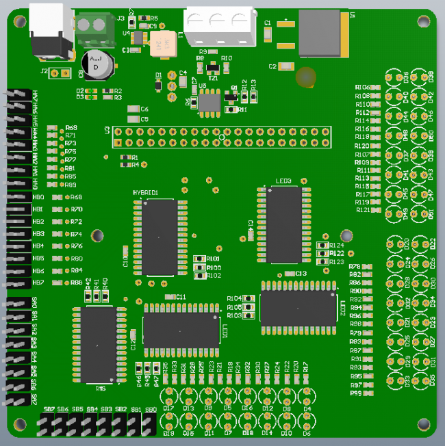New PCB Top