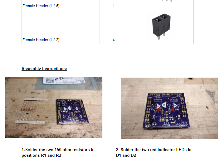 Electrical Assembly Documentation