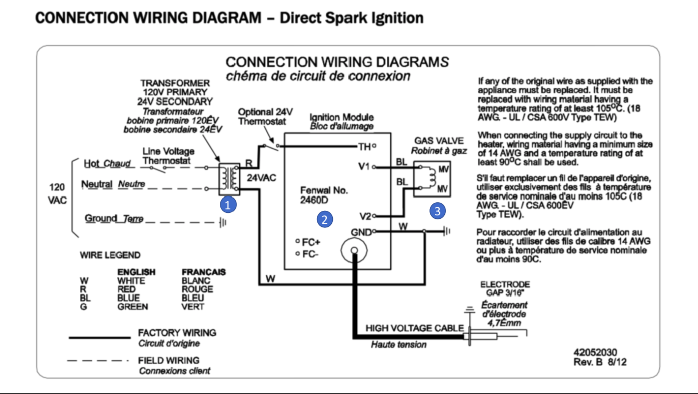 EDGE Mr Heater V Thermostat Wiring Diagram on