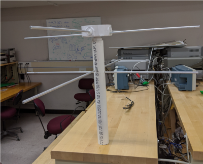 Turnstile Antenna Prototype