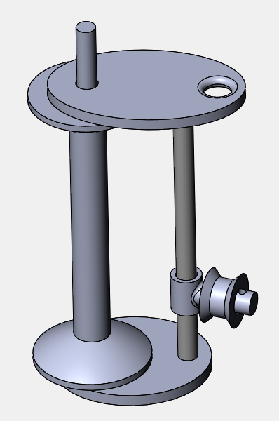 CAD for tension prototype